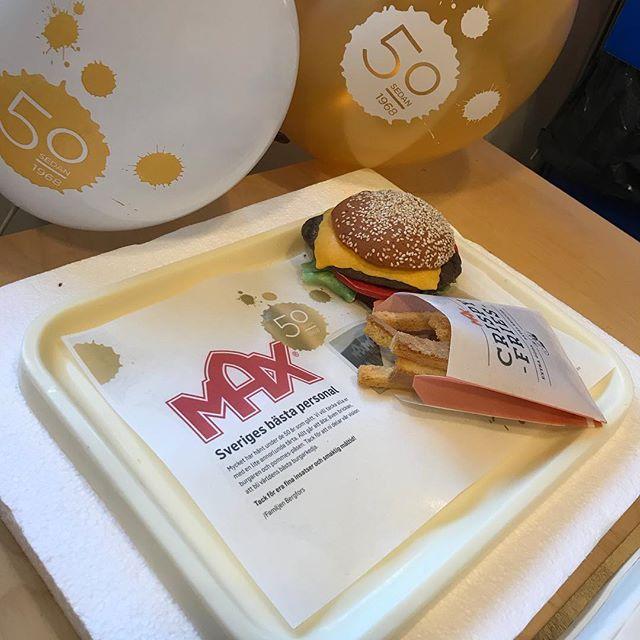 Max Burgers 50år @maxhamburgare #maxhamburgare #max50år