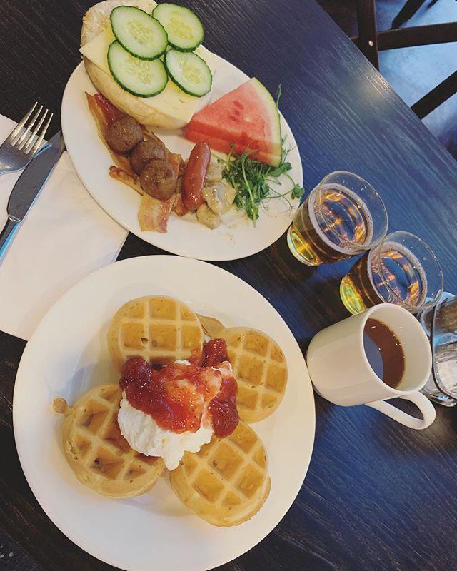 Härlig start på lördagen 🍽 #frukost #breakfast