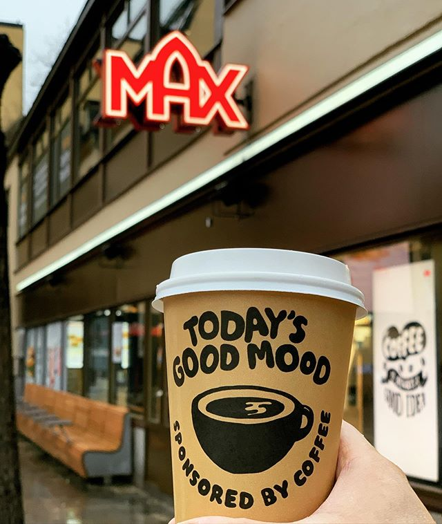 Today's good mood ️ #max #maxpremiumburgers #maxburgers #goodcoffee #maxburgersse